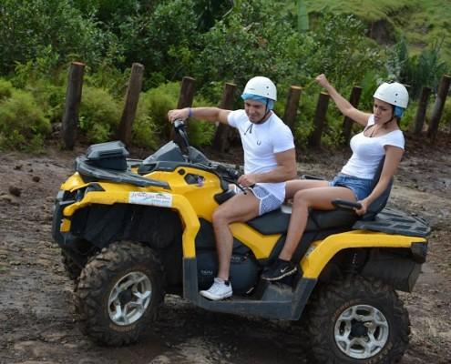 Quad Adventure in Mauritius