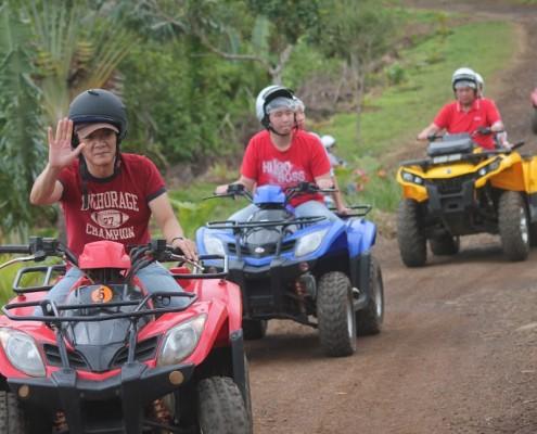 safari quad mauritius