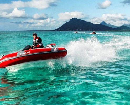 Seakart fun adventure Mauritius