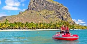 seakart views mauritius